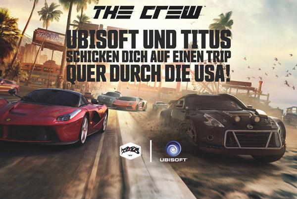 "Ubisoft ""The Crew""-Gewinnspiel"